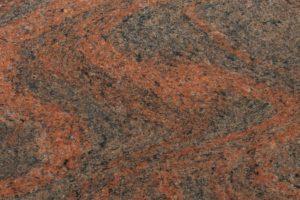 Multicolor Rot Indien | Gesteinsart: Metamorphit | Untergruppe: Migmatit | Herkunft: Indien | Alter: >1000 Mill. Jahre